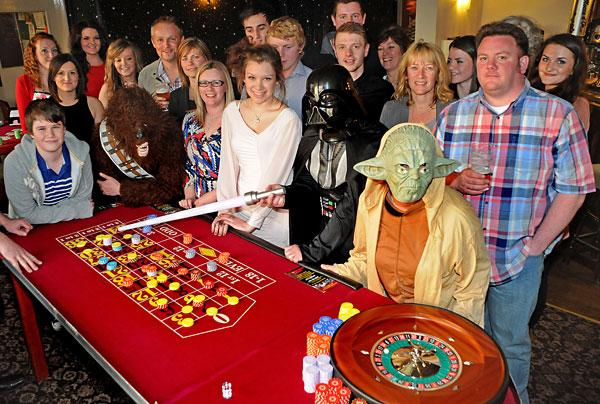 Star Wars-themed casino night raises money in aid of young cancer patients