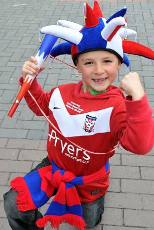 York City fan  Oliver Darley