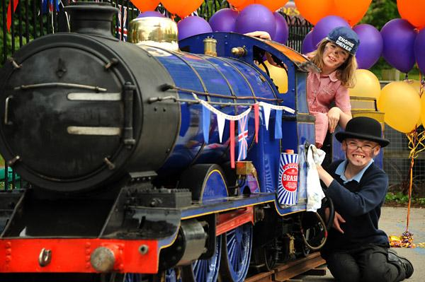Miniature steam engine Synolda, which will appear at Railfest, celebrates its 100th birthday by returning to Sand Hutton, where it first operated on the Sand Hutton Miniature Railway a  century ago.