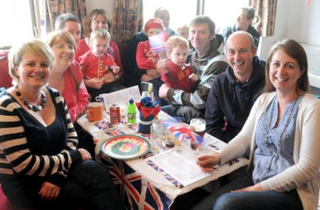 Residents of several Heworth streets gathered at the Cricket Club to celebrate the Queens Diamond Jubilee on Sunday
