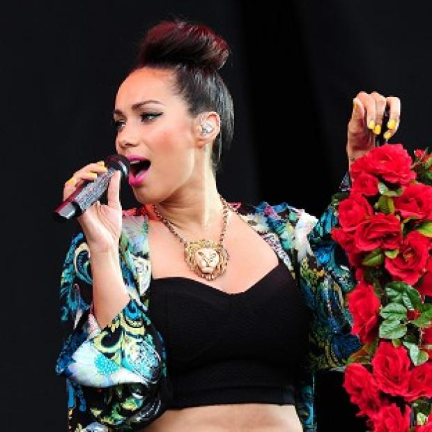 Leona Lewis performs at Radio 1's Hackney Weekend