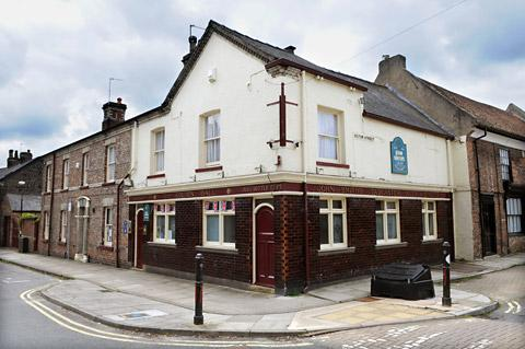 York Press: The exterior of the Golden Ball in Bishophill