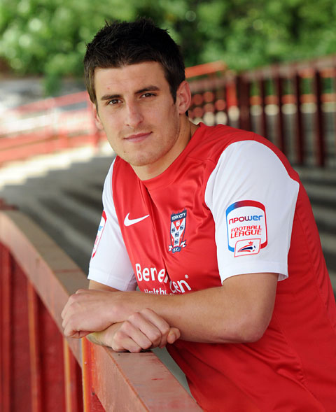 Michael Coulson is pictured after signing for York City
