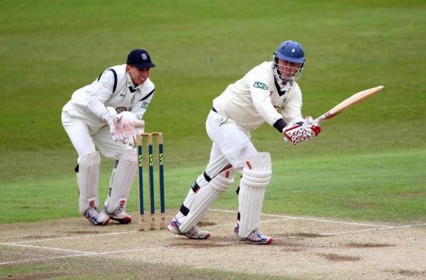Yorkshire batsman Gary Ballance will resume his partnership with Joe Root if the rain relents on day three of the LV= County Championship division two clash with Hampshire at The Ageas Bowl.