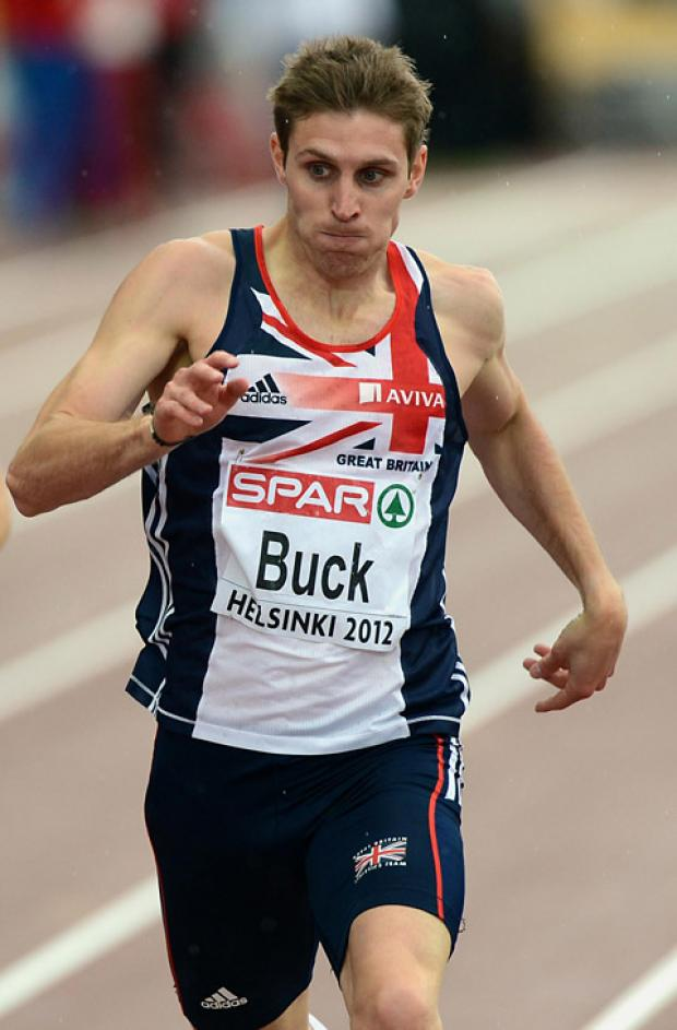 City of York Athletics Club star Richard Buck is in the Great Britain 4x400m relay squad for London 2012