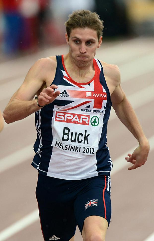 York's Richard Buck, whose medal chances at the Olympics may hinge on Martyn Rooney