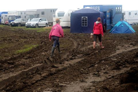 The Yorkshire Show was cancelled for the first time due to flooding