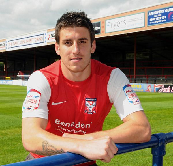 York City boss Gary Mills will give fans their first look at new signing Michael Coulson