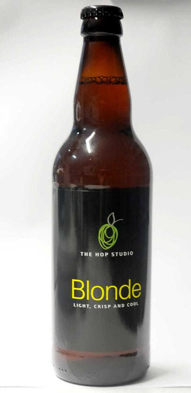 Hop Studio Blonde - abv 3.5%; £1.95 / 50cl