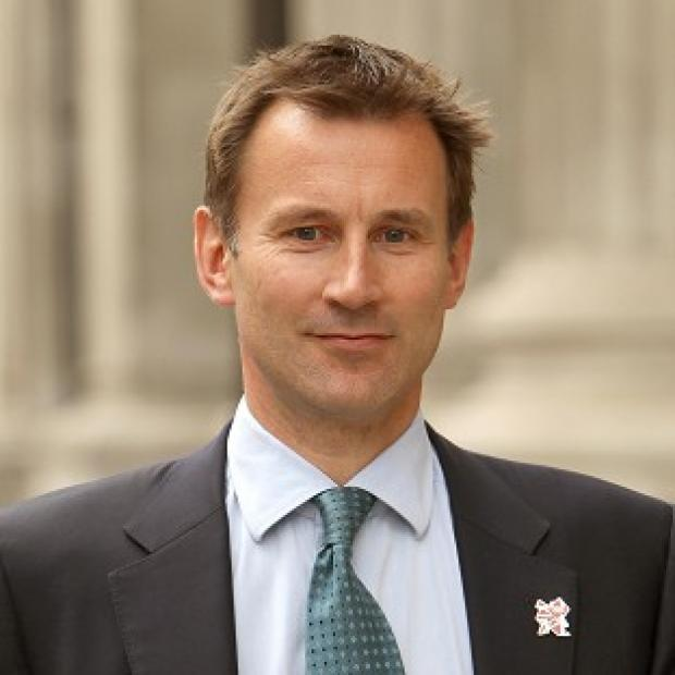 Jeremy Hunt is 'absolutely certain' London 2012 will be safe and secure