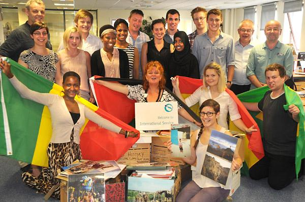 International Service staff move into their new Rougier Street offices
