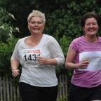 Carol Lillingston, left, and Diana Hodgson, who have formed Parents With Cancer and will be running in the York 10K