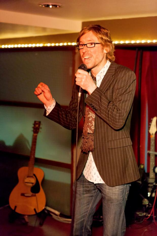 York comedian James Christopher