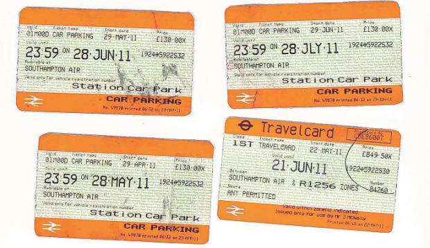 York Press: The fake train and parking tickets