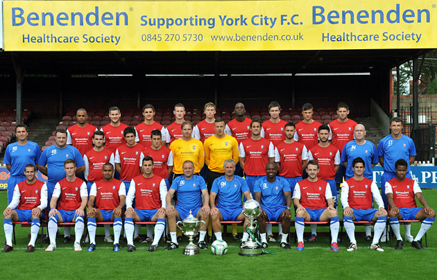 York City squad 2012/13
