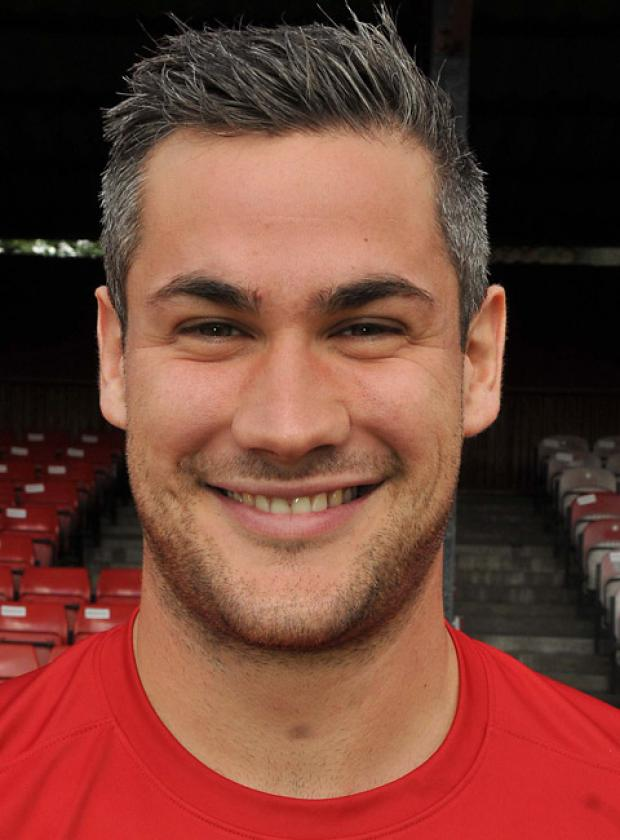 York City striker Jamie Reed