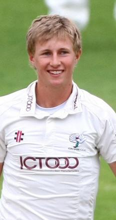 Stand-in Yorkshire skipper Joe Root