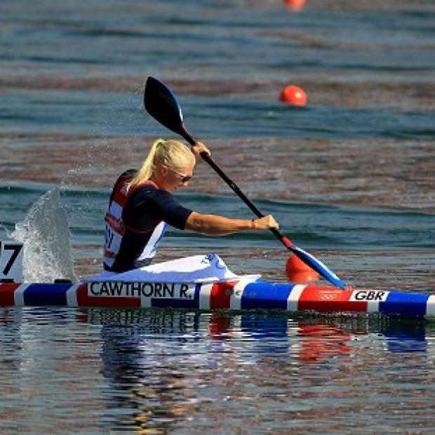 Rachel Cawthorn finished sixth in the final of the women's 500m kayak