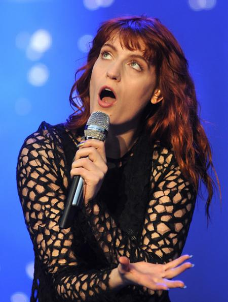 Florence & The Machine perform at Leeds Festival.
