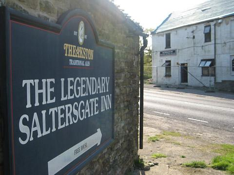The historic Saltersgate Inn on the A169