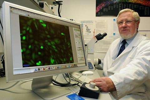 Professor Norman Maitland, whose research unit at the University of York has received the £190,000 grant