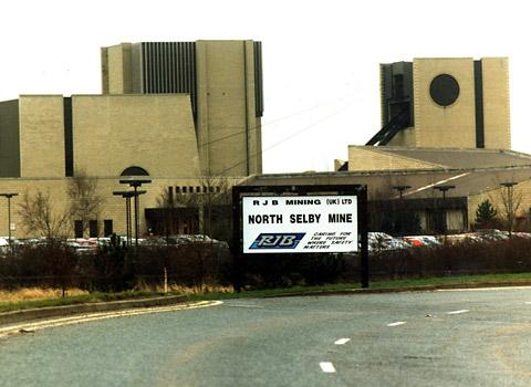 Flashback to North Selby Mine in 2000