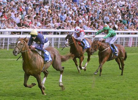 The Celebrating 45yrs of Betfred Garrowby Stakes 2.55 (3rd race at York.)Mince ridden by James Doyle wins the 3rd race from Colour of Love (second) and Free Zone (third).