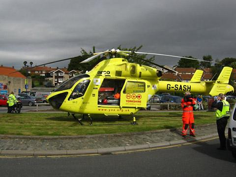 Cyclist suffers head injuries in Tadcaster accident