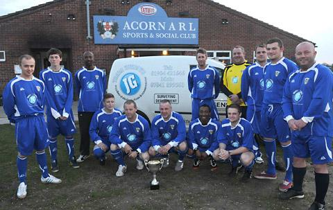 York Acorn in their new kit