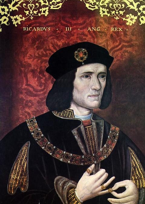A portrait of Richard III