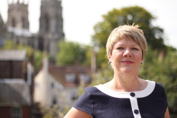 Lady Jane Gibson, the new chairman of Visit York