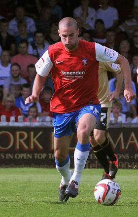 Former York City winger Matty Blair