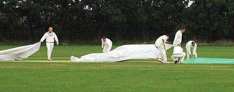 The unwelcome sight of the covers coming on again
