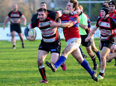 Ryan Lonsdale could soon be back in action for Malton & Norton RUFC after a stay in Australia