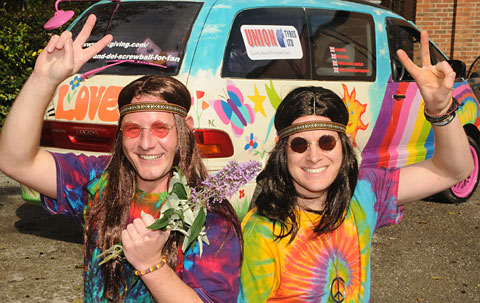 'Hippies' to tackle 3000-mile fundraising rally