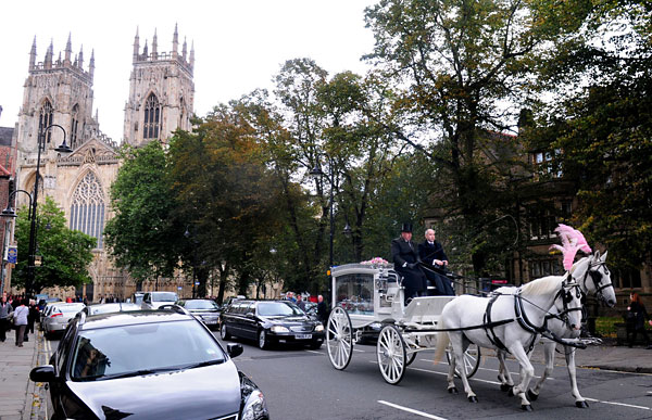 Minster funeral for girl who died in nursery tragedy