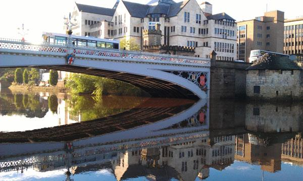 Nigel Kelly's entry to our Lendal Bridge photography competition