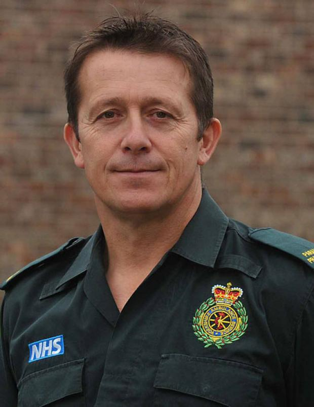 RECOGNITION: Paramedic Ron Wilkinson
