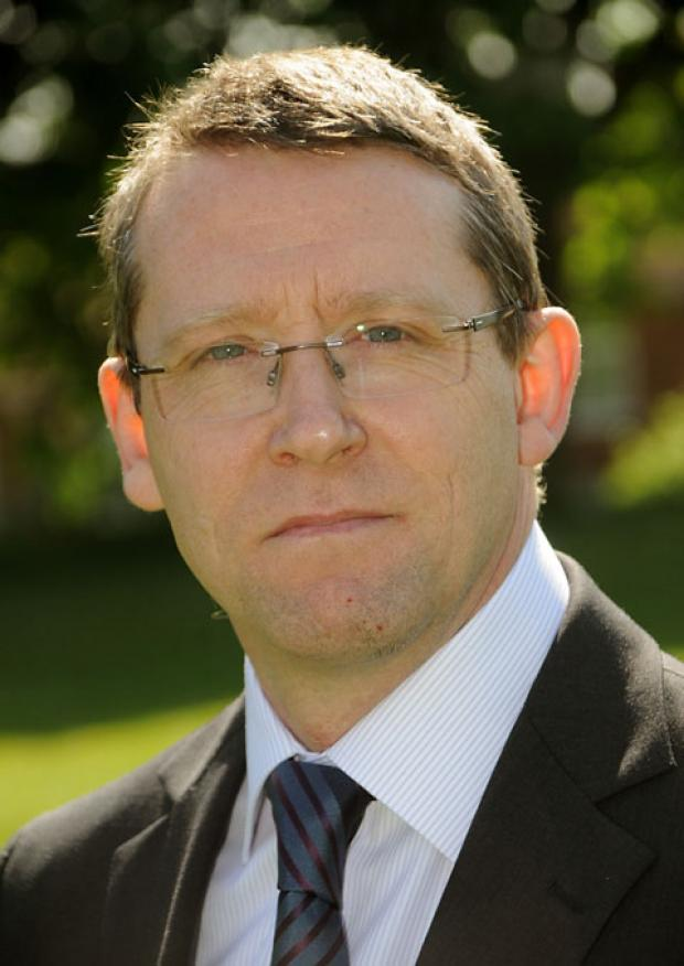 Trevor Burton, head teacher at Millthorpe School