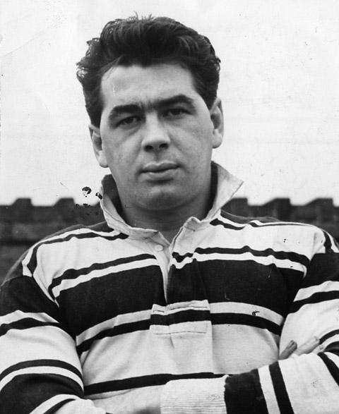 Bill Drake, in his Hull kit in 1959