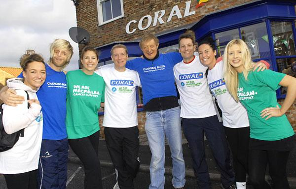 Tracey England, Jono Lancaster, Rebecca Burgess, Simon Clare, James Partridge, Andy Hornby, Lottie Pearce, Carla Morini
