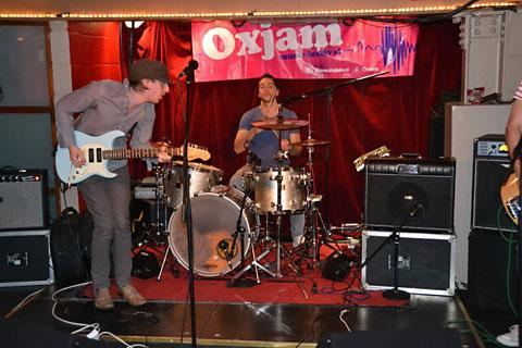 Last year's Oxjam event in York
