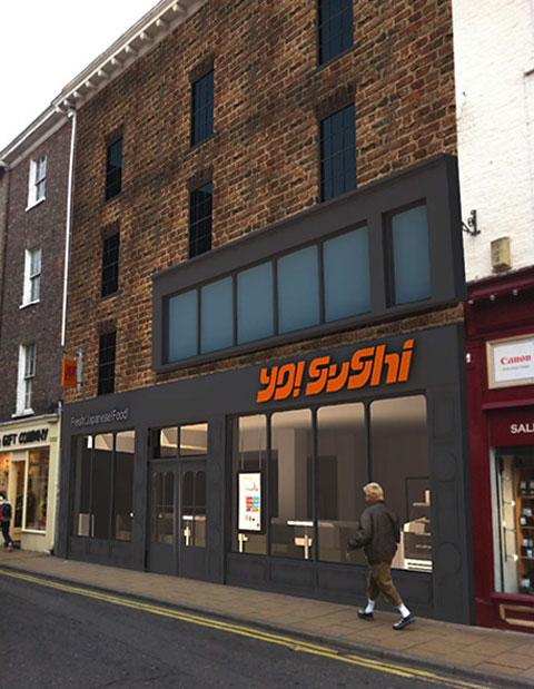 Sushi To Open Restaurant In Church Street York