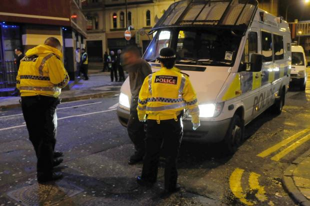 Police are concerned about drink-related antisocial behaviour