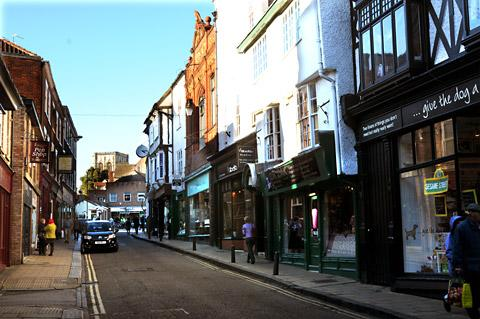 Fossgate is earmarked for pedestrianisation as part of the council's Reinvigorating York plans