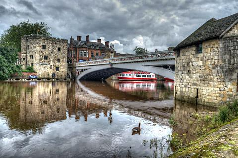 An artistic view of Lendal Bridge from Barry Pitcher