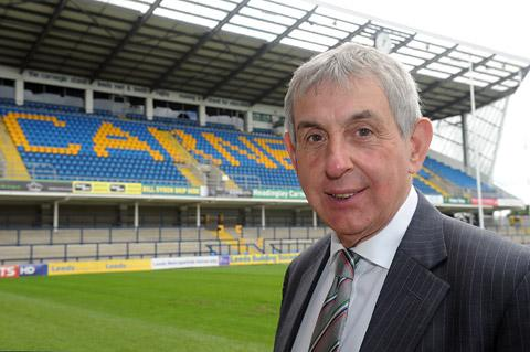 Sir Ian McGeechan at Headingley