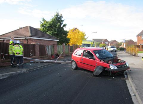 Witness appeal after York crash