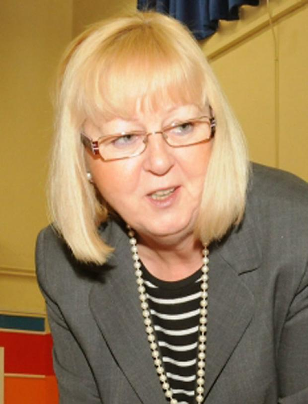 Former Derwent School head teacher Carole Torode