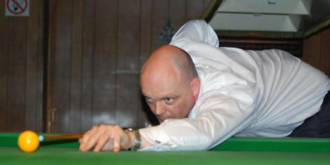 Heworth's  in-form Gary Rogers, who also leads the highest break ratings